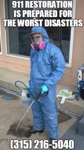 Sewage Backup Cleanup Oswego