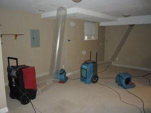 Water Damage East Syracuse Vacuuming Attic